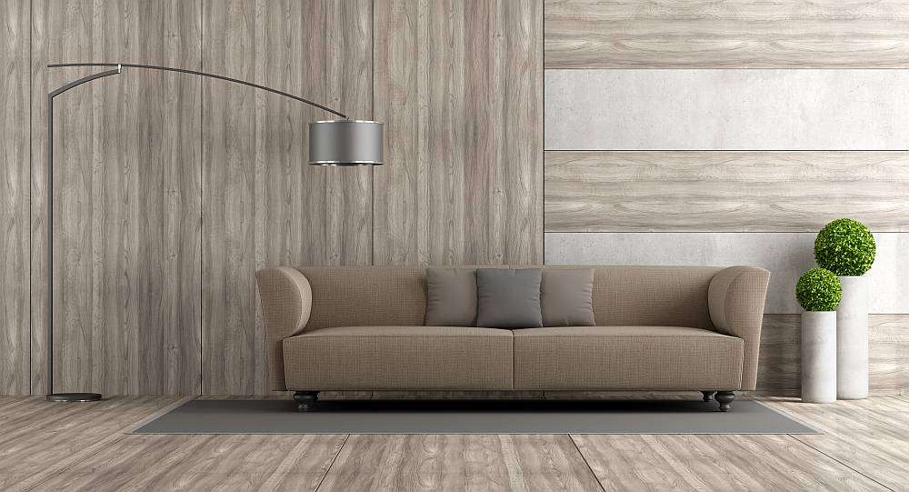 Lampa w salonie